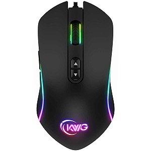 Mouse Gamer KWG Orion P1, 12.000 DPIs, 7 botões - ORIONP1