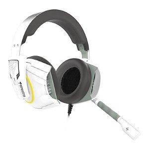 Headset Gamer Gamdias Hephaestus E1 Branco RGB - HEPHAESTUS-E1