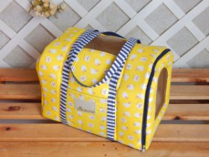 BOLSA DE TRANSPORTE TECIDO - Yellow Sheep