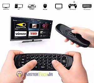 Mini Teclado Air Mouse Sem Fio 2,4 Ghz Android Tv Box Pc Mac