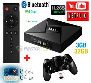 Tv Box TX9 Pro 4k Octacore 3gb/32gb Bluetooth Android 7.1 + ipega 9076