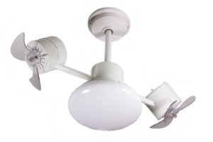 Ventilador de Teto Treviso Infinit Plus Branco C/ LED 18W