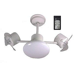 Ventilador de Teto Treviso Infinit Plus Branco  C/ Controle Remoto e LED18W