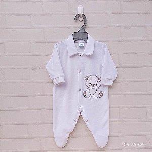 Macacão Plush  Urso