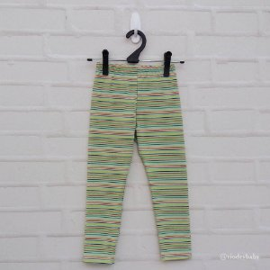 Legging Infantil Listrada Verde