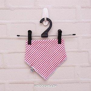 Bandana Plush Listras Pink