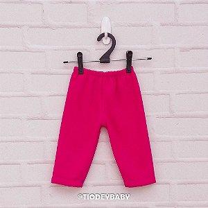 Calça Bucklê  Peluciada Pink