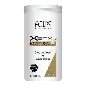 FELPS XBTX CAPILAR EM MASSA ÓLEO DE ARGAN E MACADÂMIA 1KG