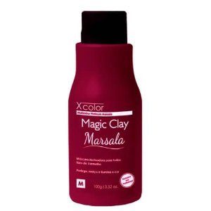FELPS XCOLOR MAGIC CLAY MARSALA MÁSCARA MATIZADORA 100G