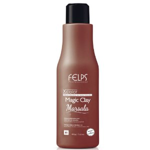 FELPS XCOLOR MAGIC CLAY MARSALA MÁSCARA MATIZADORA 500G