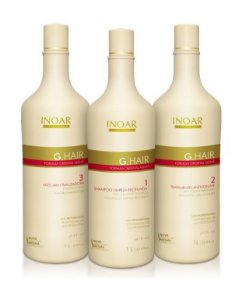 INOAR G.HAIR PROGRESSIVA ALEMÃ 3X1000ML