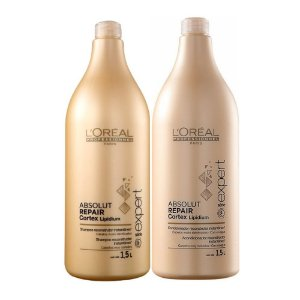 LORÉAL ABSOLUT REPAIR CORTEX LIPIDIUM SHAMPOO & CONDICIONADOR 2X1500M