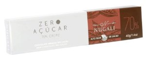 Chocolate Nugali - Linha Zero Açúcar