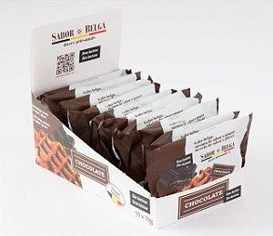 Waffle de Chocolate Sabor Belga - unidade