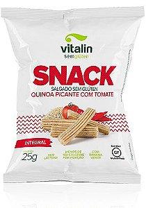 Snack Quinoa Picante com Tomate Vitalin 25g