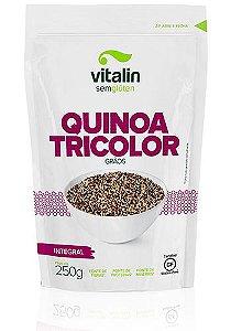 Quinoa Tricolor Grão Integral Vitalin