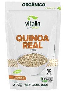 Quinoa Real Grãos Orgânico Vitalin 250g