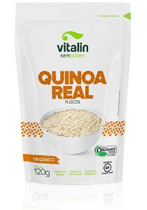 Quinoa Real Flocos Orgânico Vitalin