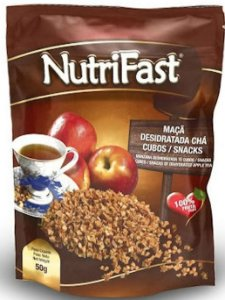 Maçã Desidratada Chá Cubos Nutrifast