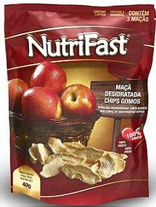 Maçã Desidratada Chips Gomos Nutrifast