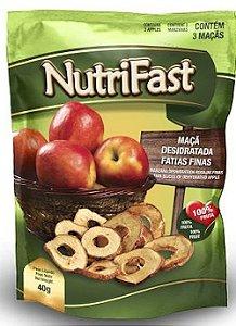 Maçã Desidratada Fatias Finas Nutrifast