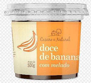 Doce de Banana com Melado Caseiro e Natural