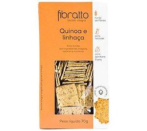 Biscoito Fibratto Quinoa e Linhaça