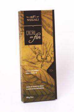 Tablete Cacau em Flor 70% Cacau Nugali