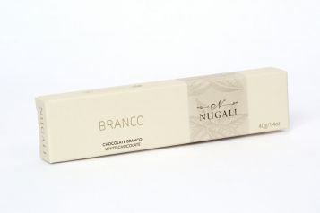 Tablete Chocolate Branco Nugali