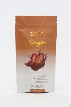 Dragée Cacau com Chocolate ao Leite Nugali