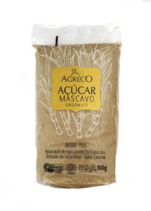 Açúcar Mascavo Orgânico Agreco 500g
