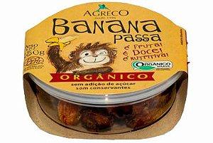 Banana Passa Orgânica Pote Agreco 150g