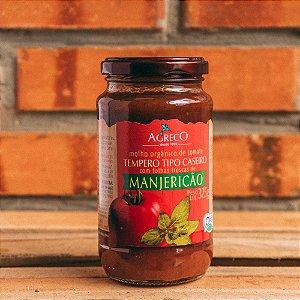 Molho de Tomate Orgânico com Manjericão Agreco 325g