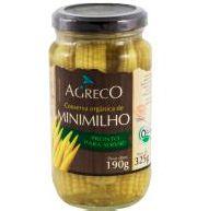 Mini Milho Orgânico Agreco 190g