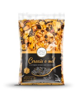 Granola Tradicional Coisas Lá de Casa Cereais e Mel 450g
