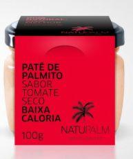 Pate de Palmito Natupalm Sabor Tomate Seco 100g