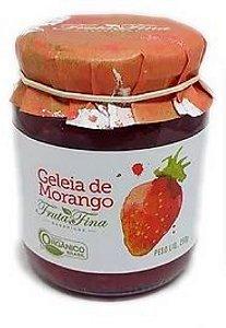Geleia de Morango Fruta Fina Orgânica