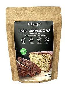 MISTURA PARA PÃO DE AMÊNDOAS  (LOW CARB) AMENDOIM