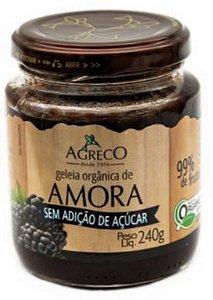 Geleias orgânicas Sem Açúcar Agreco 240g