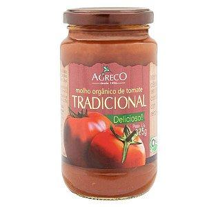 Molhos de tomates orgânicos Agreco