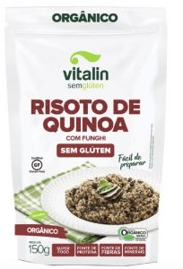 Misturas de risoto orgânico Vitalin 150g