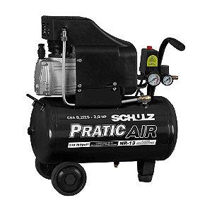 Motocompressor ar Pist C/R CSA-8,2/25L 2,0CV/127V  PRATIC AR