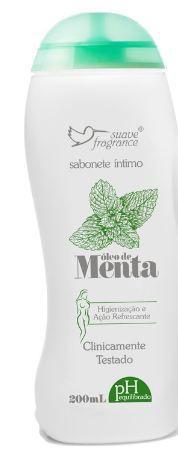 Sabonete Íntimo Menta 200ml Suave Fragrance Refrescante