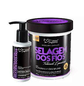 Kit Selagem Dos Fios Nano Defrizante Suave Fragrance