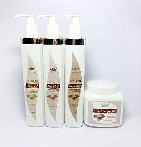 Kit Hidratação De Cabelo Argan Oil 1 Litro Wgw Versão Cliente