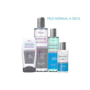 Kit Biofacies Limpeza de Pele Normal a Seca Suave Fragrance
