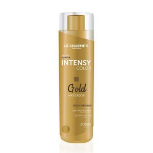 Matizador Intense Gold Color Blond 500ml Le Charme's