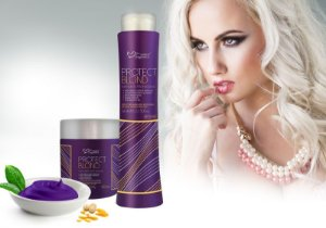 Kit Protect Blond Matizador Cabelos Loiros Suave Fragrance