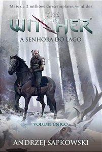 A Senhora do lago - The Witcher - A saga do bruxo Geralt de Rívia (Capa game)
