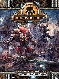 Aventuras Urbanas - RPG De Fantasia Forjada Em Metal